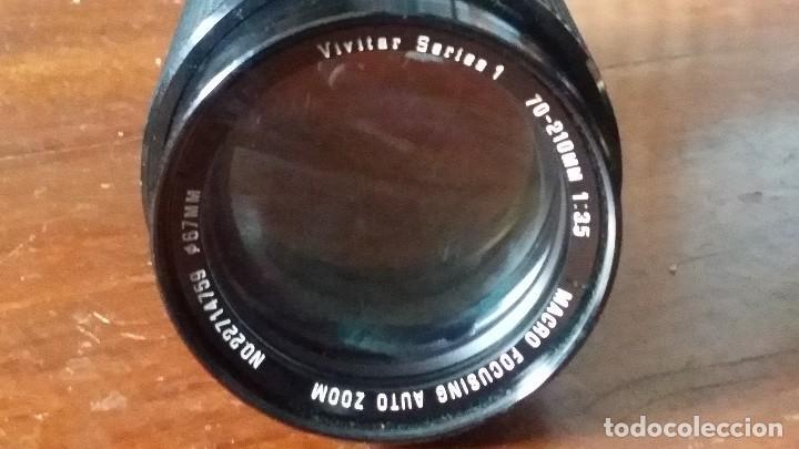 Cámara de fotos: zoom vivitar Serie 1, 70-210mm F=3,5, montura canon fd - fl - Foto 2 - 122951939
