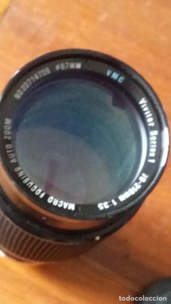 Cámara de fotos: zoom vivitar Serie 1, 70-210mm F=3,5, montura canon fd - fl - Foto 4 - 122951939