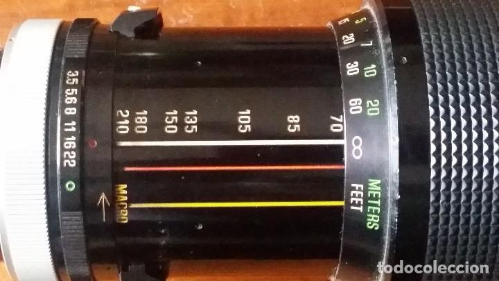 Cámara de fotos: zoom vivitar Serie 1, 70-210mm F=3,5, montura canon fd - fl - Foto 7 - 122951939