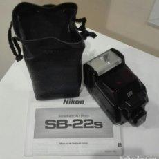 Cámara de fotos: FLACH NIKON SPEEDLIGHT SB-22 S. Lote 123281127