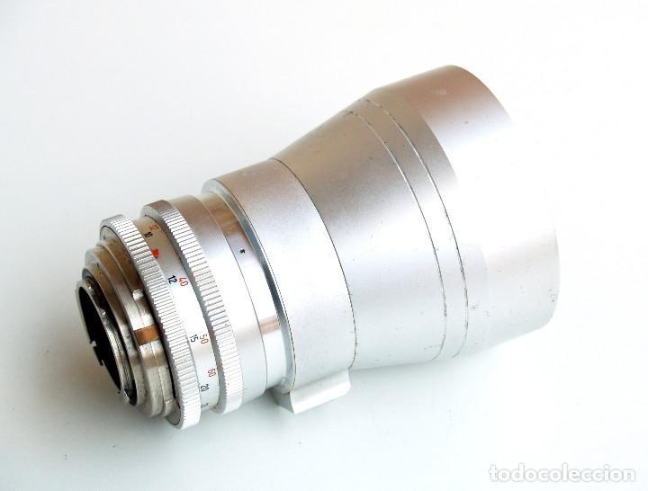 Cámara de fotos: Obj. Schneider Kreuznach RETINA TELE XENAR f4.8 200 mm SLR • Raro TELE para Retina Réflex - Foto 3 - 124623103
