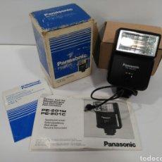 Cámara de fotos - Flash Panasonic PE-201C con caja e instrucciones. - 124782604