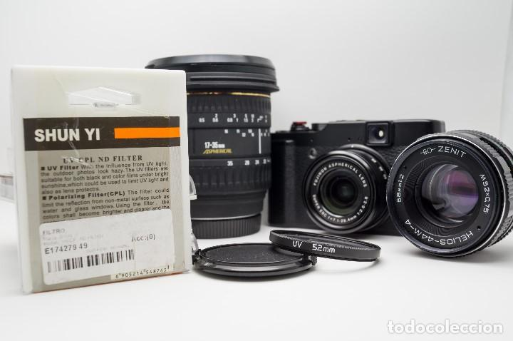 Cámara de fotos: LOTE FILTROS UV 52 mm X 2 UNIDADES - Foto 2 - 175328582