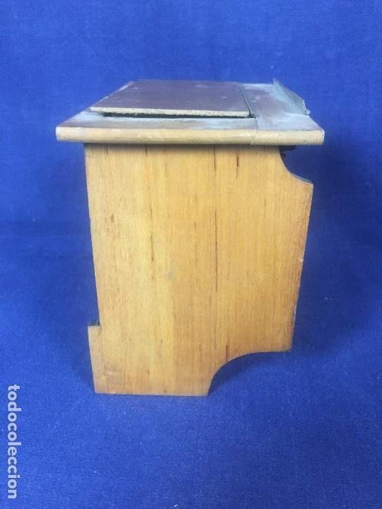 Cámara de fotos: tapa espejo fotografia complemento camara s XIX madera laton no fabricante 17,5x10x2,5cms - Foto 6 - 126328407
