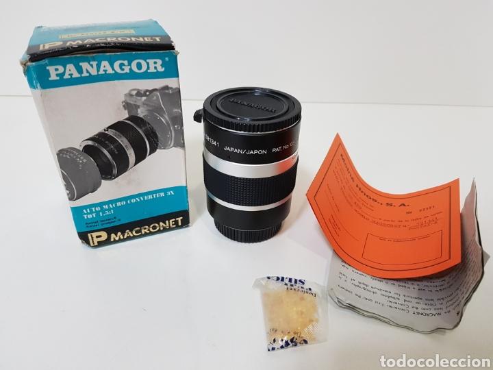 NUEVO!! PANAGOR TELE MACRONET 3X TUBO CONVERTIDOR MACRO 1:1,5 / 1:2 / 1:5 PARA PENTAX (Cámaras Fotográficas Antiguas - Objetivos y Complementos )