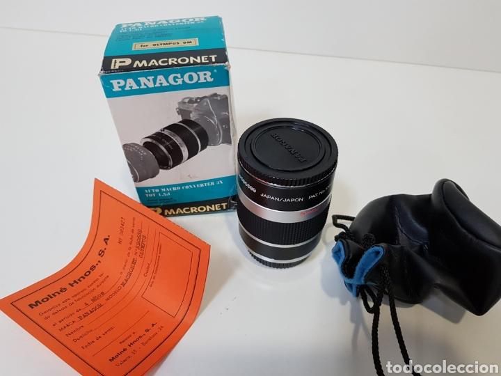 NUEVO!! PANAGOR TELE MACRONET 3X TUBO CONVERTIDOR MACRO 1:1,5 / 1:2 / 1:5 PARA OLYMPUS / 50MM (Cámaras Fotográficas Antiguas - Objetivos y Complementos )