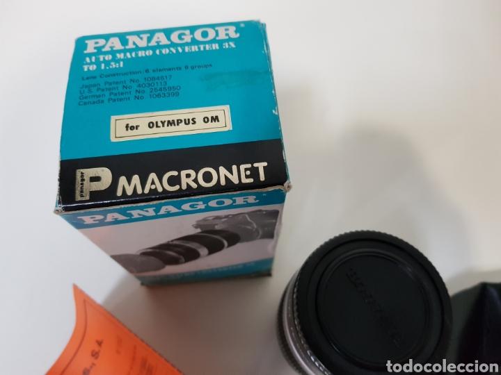 Cámara de fotos: Nuevo!! PANAGOR TELE MACRONET 3x tubo CONVERTIDOR MACRO 1:1,5 / 1:2 / 1:5 PARA OLYMPUS / 50mm - Foto 2 - 127971200