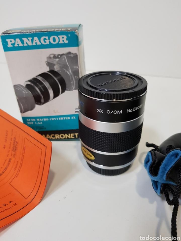 Cámara de fotos: Nuevo!! PANAGOR TELE MACRONET 3x tubo CONVERTIDOR MACRO 1:1,5 / 1:2 / 1:5 PARA OLYMPUS / 50mm - Foto 3 - 127971200