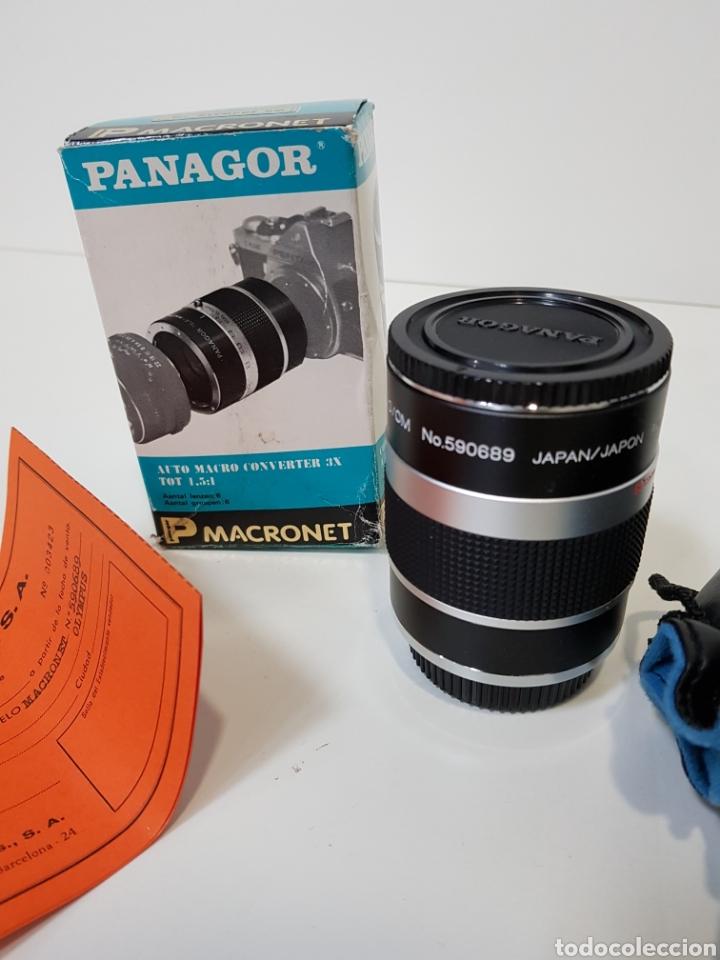 Cámara de fotos: Nuevo!! PANAGOR TELE MACRONET 3x tubo CONVERTIDOR MACRO 1:1,5 / 1:2 / 1:5 PARA OLYMPUS / 50mm - Foto 5 - 127971200