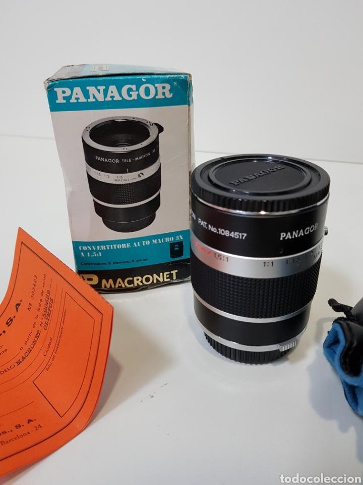 Cámara de fotos: Nuevo!! PANAGOR TELE MACRONET 3x tubo CONVERTIDOR MACRO 1:1,5 / 1:2 / 1:5 PARA OLYMPUS / 50mm - Foto 6 - 127971200