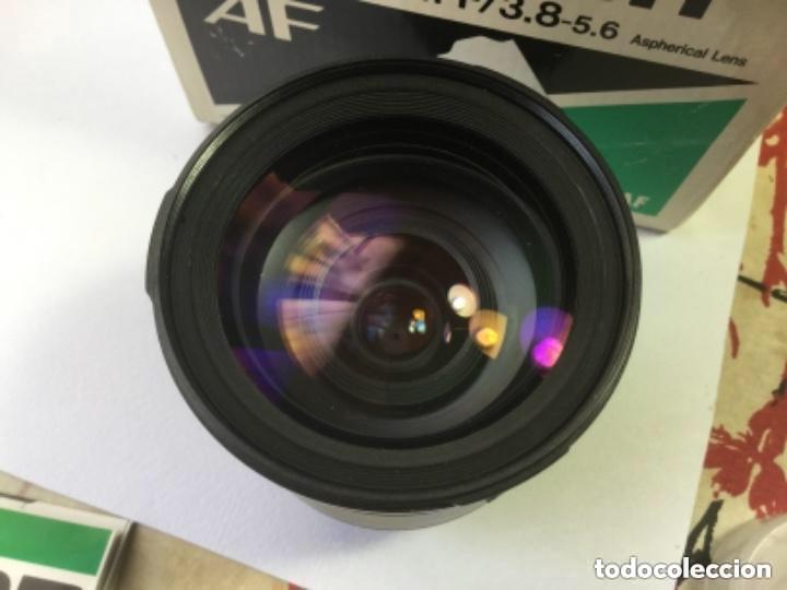 Cámara de fotos: OBJETIVO ZOOM TAMRON AF 28-200 mm F/3,8-5,6 ASPHERICAL LENS. MODELO 71 D PARA NIKON-AF - Foto 6 - 128667211