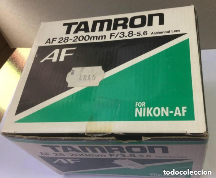 Cámara de fotos: OBJETIVO ZOOM TAMRON AF 28-200 mm F/3,8-5,6 ASPHERICAL LENS. MODELO 71 D PARA NIKON-AF - Foto 9 - 128667211