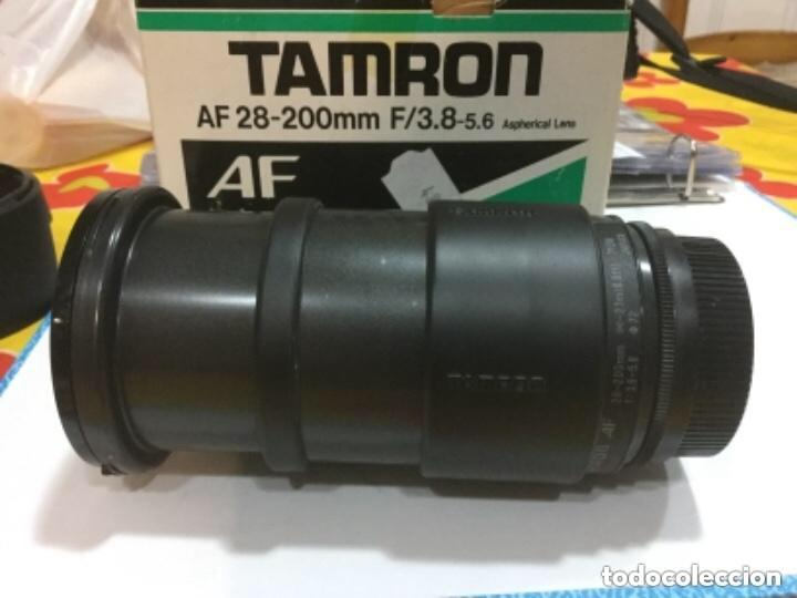 Cámara de fotos: OBJETIVO ZOOM TAMRON AF 28-200 mm F/3,8-5,6 ASPHERICAL LENS. MODELO 71 D PARA NIKON-AF - Foto 18 - 128667211