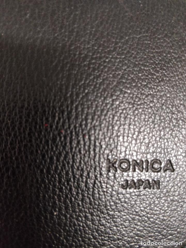 Cámara de fotos: KONICA AUTO-UP ca, 100-50cm, para KONICA C35. Con estuche e instrucciones originales. - Foto 7 - 130772616