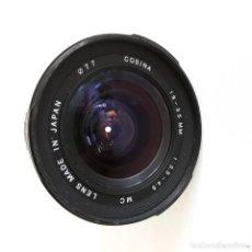 Cámara de fotos: OBJETIVO COSINA 19-35 MM, 1,35 - 4,5, 77 MM DE DIAMETRO. Lote 131032656