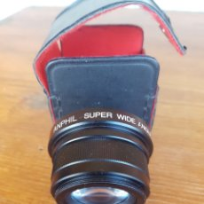 Cámara de fotos: OBJETIVO ANPHIL SUPER WIDE ANGLE 0.42X JAPAN. Lote 131047732