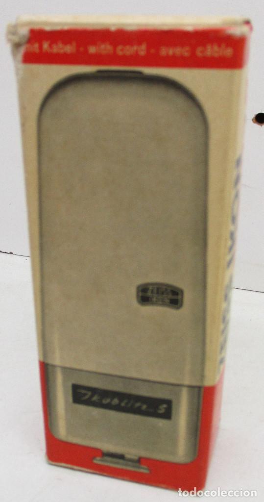 Cámara de fotos: FLASH ZEISS IKON IKOBLITZ 5, CON CAJA E INSTRUCCIONES, años 60 - Foto 8 - 131338198