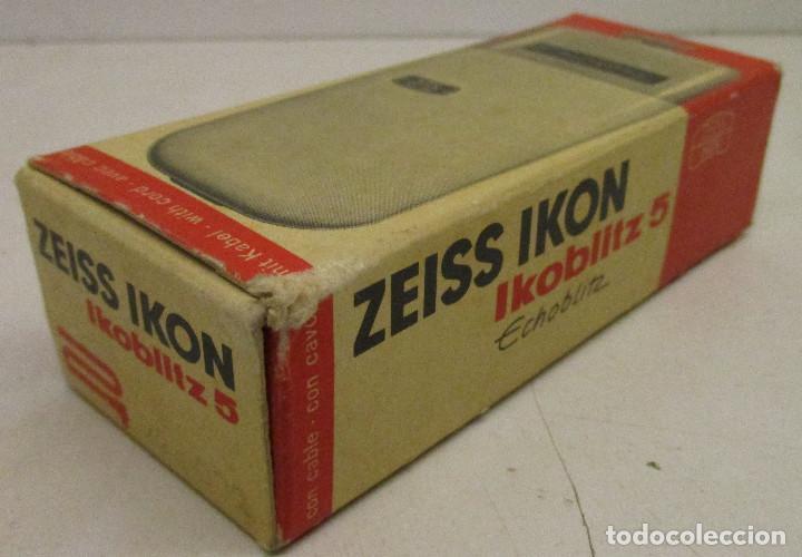 Cámara de fotos: FLASH ZEISS IKON IKOBLITZ 5, CON CAJA E INSTRUCCIONES, años 60 - Foto 10 - 131338198