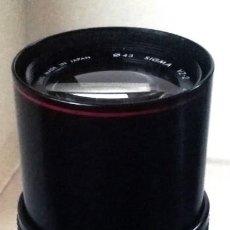 Cámara de fotos: ZOOM CONVERTER SIGMA- X 1,8- X4. Lote 132337754