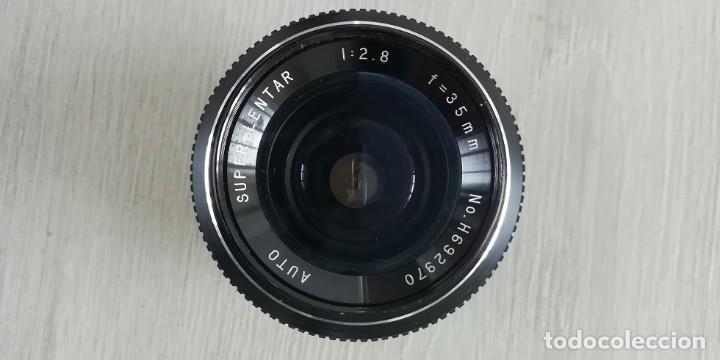 Cámara de fotos: Objetivo vintage. marca:Super-Lentar 35mm - Foto 4 - 134749662