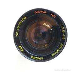 Cámara de fotos: OBJETIVO OSAWA MC 1:35-4,5, 28-80 MM Y 62 MM DIAMETRO.MACRO. Lote 135487242