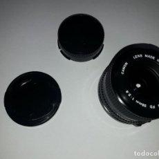 Cámara de fotos: GRAN ANGULAR CANON FD 28 MM 1:2.8 28MM. Lote 135525538