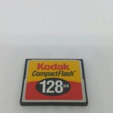 Cámara de fotos: TARJETA COMPACT FLASH KODAK 128MB.. Lote 135605463