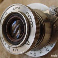 Cámara de fotos: OBJETIVO SOVIETICO RETRACTIL INDUSTAR 50 ROSCA LEICA 39 M.M. Lote 135773965