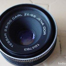 Cámara de fotos: OBJETIVO TESSAR 2,8/50 PARA REVISAR. Lote 139254165