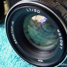Cámara de fotos: OBJETIVO RUSO ZENITAR 50/1,7. Lote 136049998