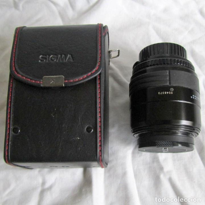 OBJETIVO FOTOGRÁFICO SIGMA 52 MM, 28 MM - 70 MM, 1: 3.5 - 4.5 FUNDA ORIGINAL (Cámaras Fotográficas Antiguas - Objetivos y Complementos )