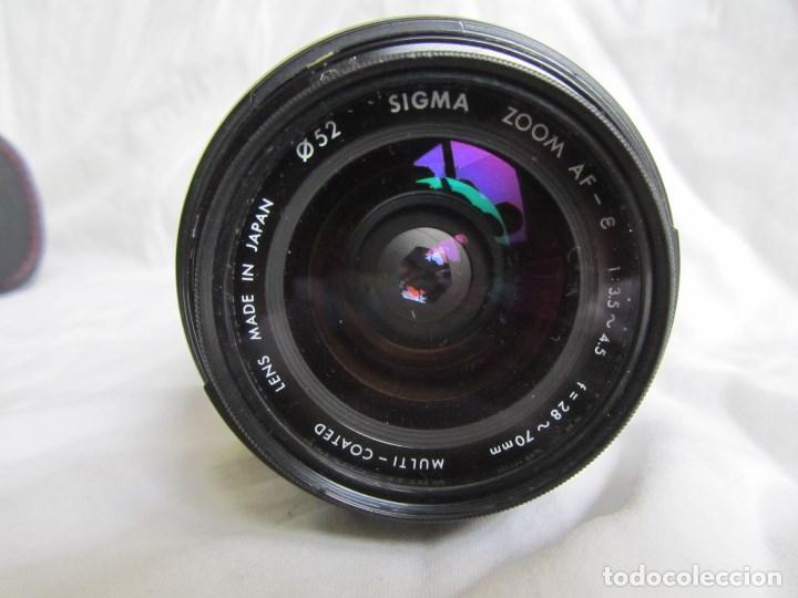Cámara de fotos: Objetivo fotográfico Sigma 52 mm, 28 mm - 70 mm, 1: 3.5 - 4.5 Funda original - Foto 8 - 136132642