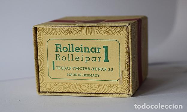Cámara de fotos: Rollei: caja (vacía) de Rolleinar Rolleipar 1 - Procedente del especialista Wessendorf, Heidelberg - Foto 3 - 136423610