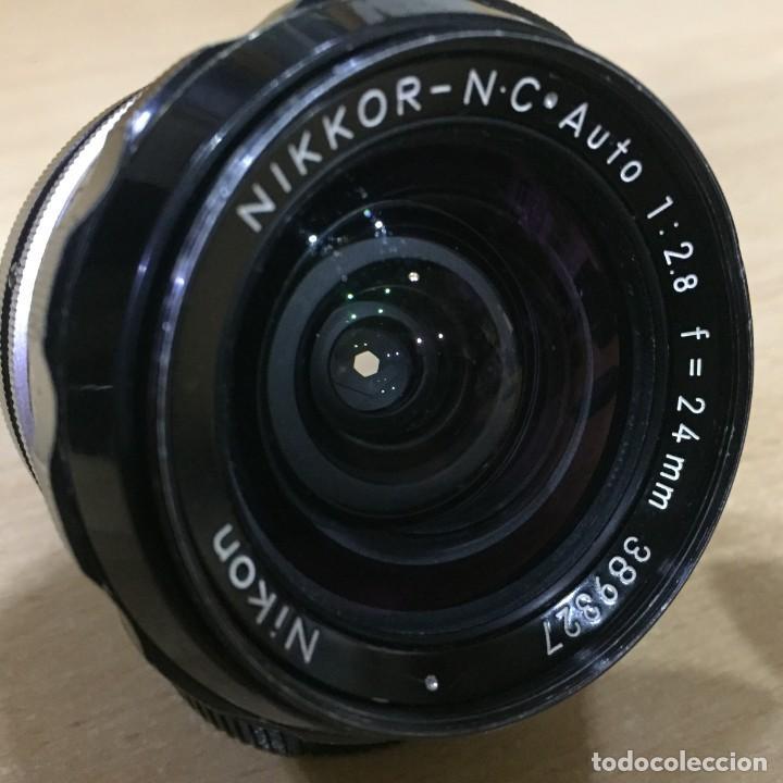 Cámara de fotos: NIKON NIKKOR NC AUTO 24MM 2.8 - Foto 5 - 136777202
