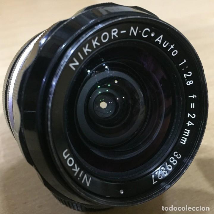 Cámara de fotos: NIKON NIKKOR NC AUTO 24MM 2.8 - Foto 6 - 136777202