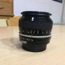 Cámara de fotos: NIKON 50MM F 1.4. Lote 136778770