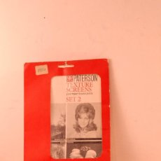 Appareil photos: PATERSON TEXTURE SCREENS B-N USADAS. Lote 136810162