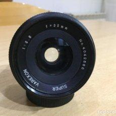Cámara de fotos: SUPER VAEXON 35MM 2.8 MONTURA M42. Lote 137115170