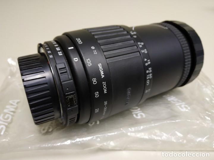 Cámara de fotos: 1018- OBJETIVO INTERCAMBIABLE ZOOM SIGMA 28-200 MM F 38 - 5.6 MADE IN JAPAN - Foto 3 - 138000550