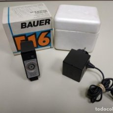 Cámara de fotos: 1018- FLASH ELECTRONICO ULTRABLITZ BAUER E 16 MADE IN GERMANY . Lote 138001138