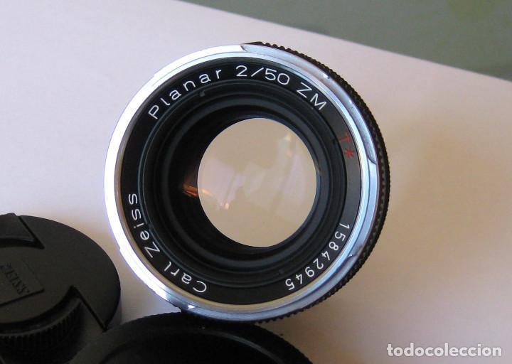 Carl zeiss planar 50/2 zm para leica m  - Sold through Direct Sale