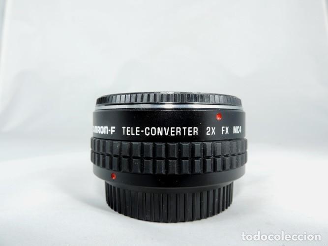 TELECONVERTER TAMRON-F 2 X FX MC4 (Cámaras Fotográficas Antiguas - Objetivos y Complementos )