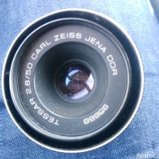 Cámara de fotos: OBJETIVO TESSAR JENA DDR 2.8/50 CARL XEIDD. Lote 139511518