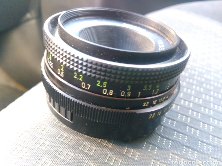 Cámara de fotos: Objetivo tessar jena ddr 2.8/50 carl xeidd - Foto 2 - 139511518
