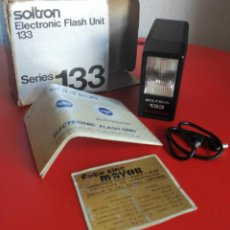 Cámara de fotos: FLASH ELECTRÓNICO SOLTRON. Lote 139679850