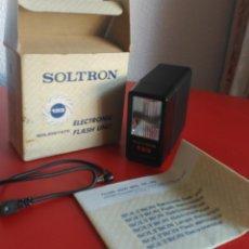 Cámara de fotos: FLASH ELECTRÓNICO SOLTRON. Lote 139680110