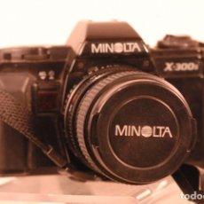 Cámara de fotos: CAMARA MINOLTA X 300 OBJETIVO MACRO 35-70. Lote 140304458