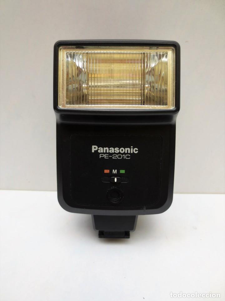 FLASH PANASONIC PE-201C (Cámaras Fotográficas Antiguas - Objetivos y Complementos )