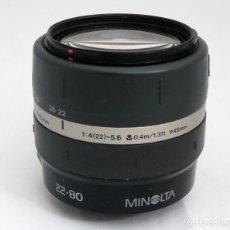 Cámara de fotos - OBJETIVO MINOLTA 22-80MM F4-5.6 - 141394134