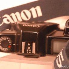 Cámara de fotos - camara canon eos 1000-n lleva correa nueva no funciona - 141768454